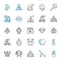 cute icons set