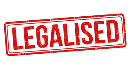 Legalised sign or stamp