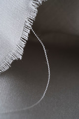 abstract fraying fabric