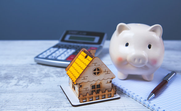 house piggy bank calculator