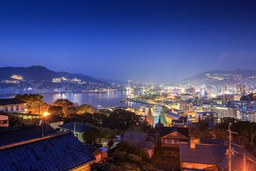 Foto op Canvas Turkije 長崎の夜景 世界三大夜景