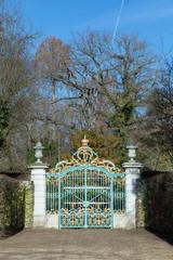 golden gate at Schwetzingen castle park