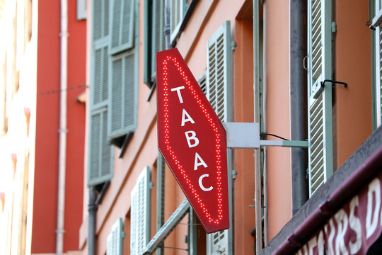 French Tabac Sign