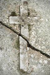 Broken Stone Cross