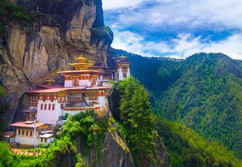 Taktshang Goemba, Tiger nest monastery, Bhutan Wall mural