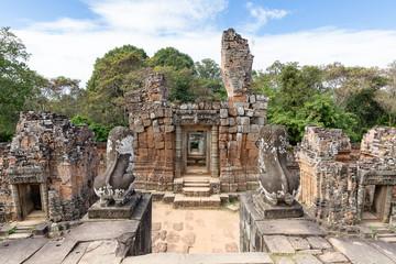 Eastern Mebon temple, Siem Reap, Cambodia, Asia