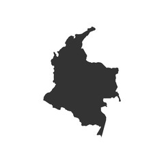 Vector Colombia map