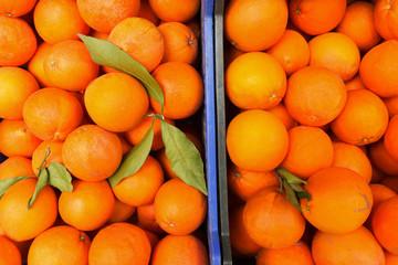 Oranges Fruits for Sale in a Market in Estepona Spain