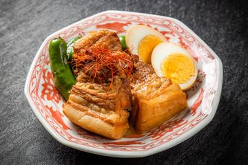 柔らか煮豚 豚の角煮 Soft boiled pork cuisine