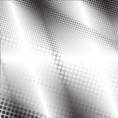 The  high-tech image  of gray dots for  logo, text,  poster, labels, wallpaper.