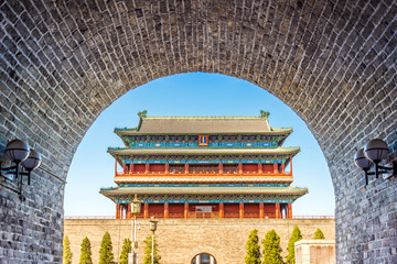 ancient royal palaces of the Forbidden City in Beijing, China