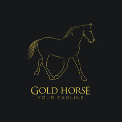 GOLD HORSE