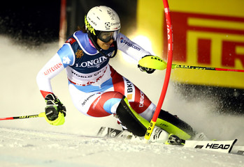 Alpine Skiing - FIS Alpine World Ski Championships - Women's Alpine Combined - Slalom
