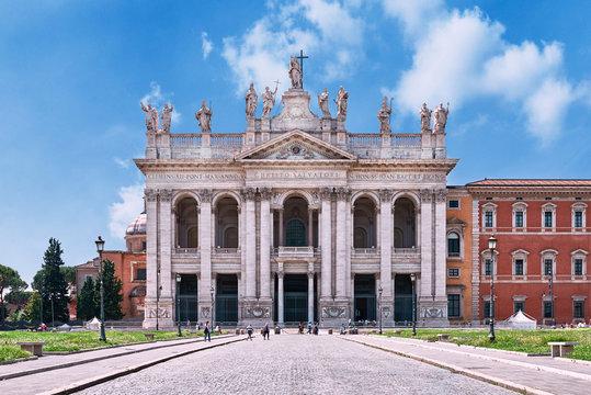 Rome, St. John Lateran Basilica (Basilica di San Giovanni in Laterano)