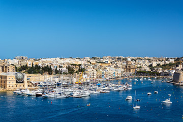 View of Kalkara, Malta