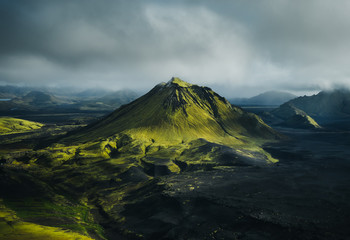 Old volcano
