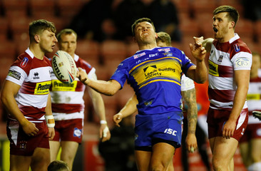 Super League - Wigan Warriors v Leeds Rhinos
