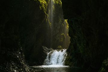 Hidden fall