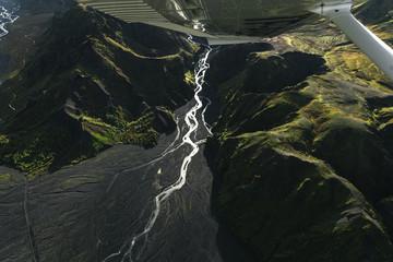 Birdeye canyon Fototapete