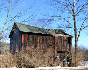 barn in disrepair
