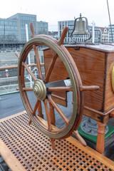 Steuerrad Ruder Segelschiff