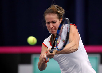 Fed Cup - Europe/Africa Group I - Pool A - Great Britain v Hungary