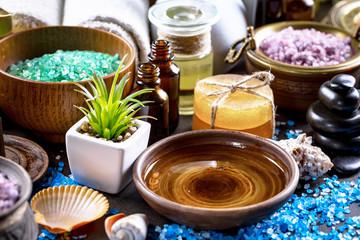 Spa massage items