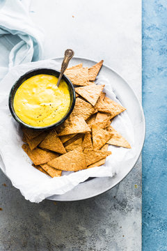 Mango Mustard Sauce served with Baked Tortilla Chips