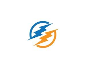 Thunderbolt symbol illustration