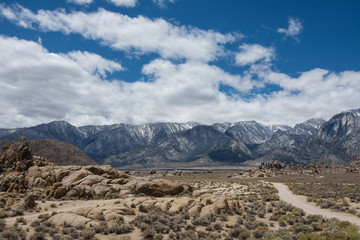Alabama Hills in Lone Pine California, famous movie filming location for Western classic movies