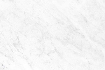 White marble background with copy space.