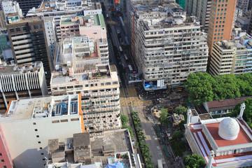 Hong Kong old building at Tsim Sha Tsui