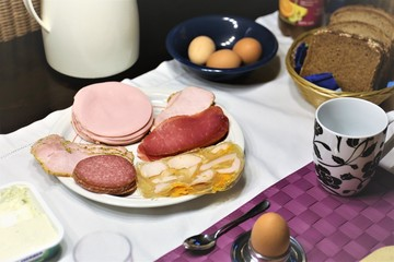 An Image of a food, breakfast