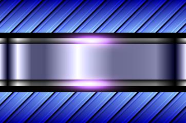 Abstract  background purple blue pattern, shiny metallic