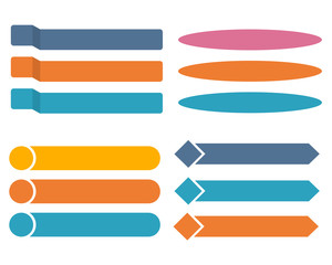 Colorful Arrow info graphic concept. Business template, options, parts. Can be used for workflow layout, diagram, chart, step by step infographics, web design. Vector illustration