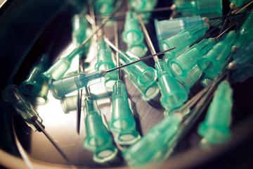 Needles for syringe