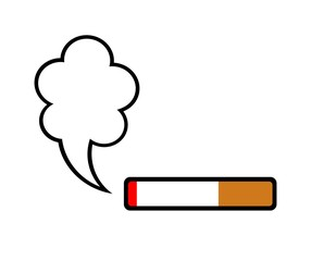 タバコのマーク