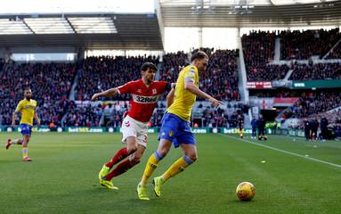 Championship - Middlesbrough v Leeds United
