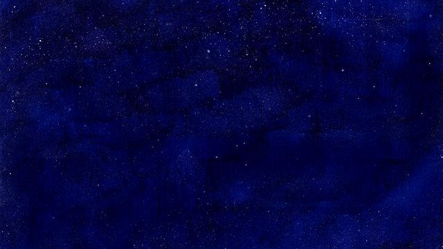 夜空に輝く星の壁紙の背景素材