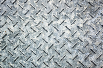 metal diamond plate in gray color