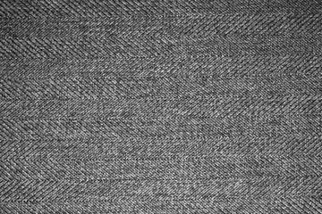 Grey woolen fabric texture.Gray woolen background.