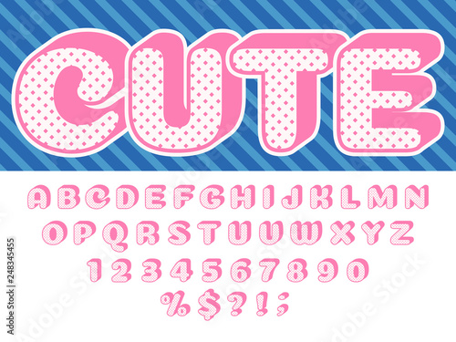 Girls doll font  Pink princess surprise, lol funny child