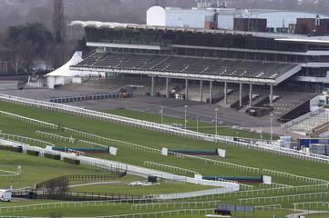 A general view of Cheltenham Racecourse, Cheltenham, Gloucestershire