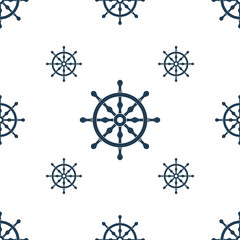 Seamless marine pattern. Vector illustration.
