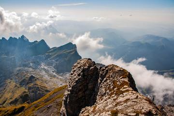 Schweiz Säntis Berg Mountain Berg Landschaft Nature