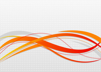 Abstract wavy background Wall mural
