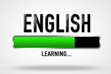 English learning progress
