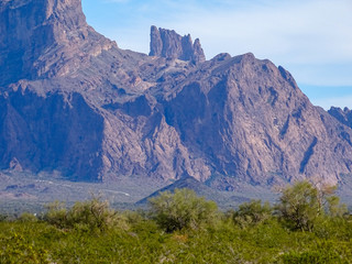 Desert Cliffs, Kofa Mountains, Arizona