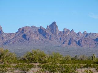 Cliffs in the Desert, Kofa Mountains of Arizona
