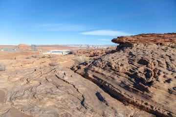 Overlooking Glen Canyon Dam, Northern Arizona
